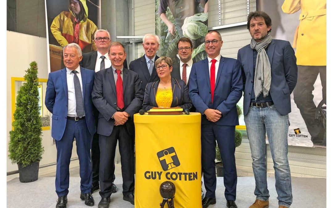 Inauguration de l'usine Guy Cotten